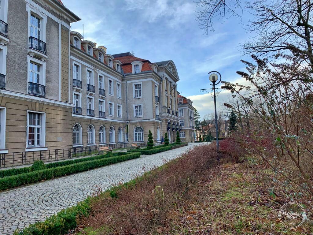 Dom zdrojowy w Szczawnie-Zdroju