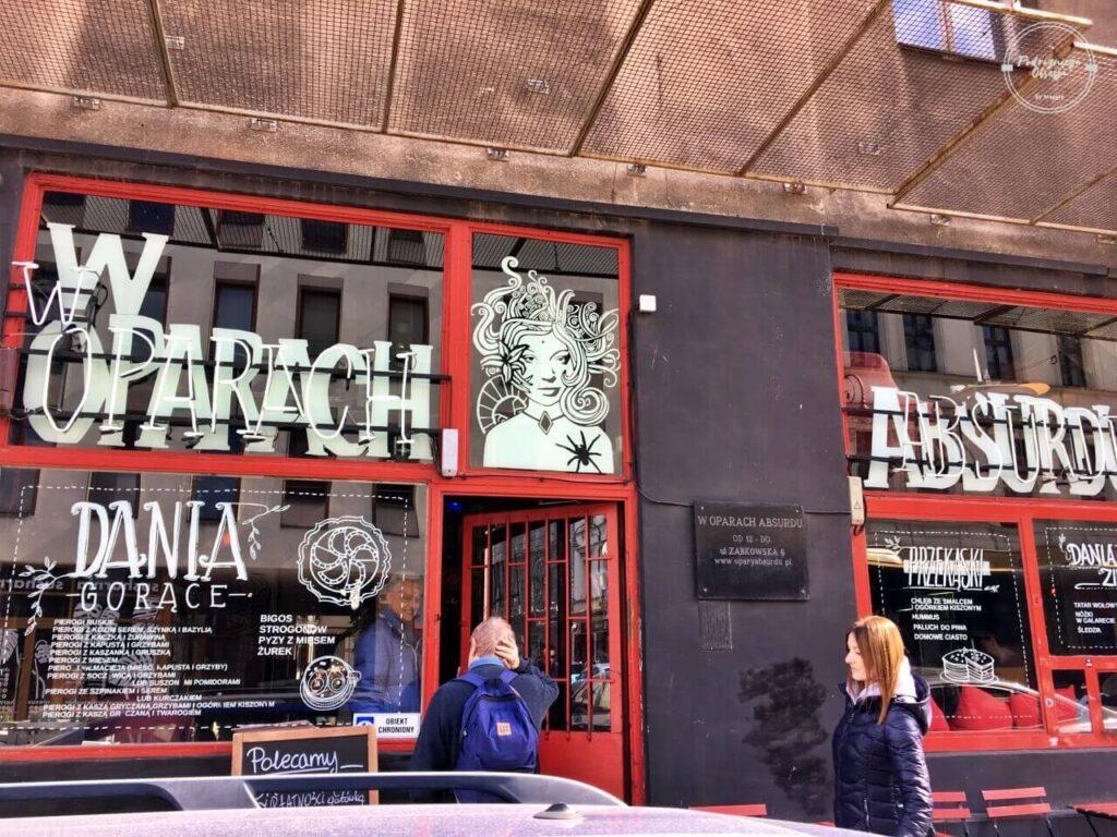 lokal na warszawskiej Pradze