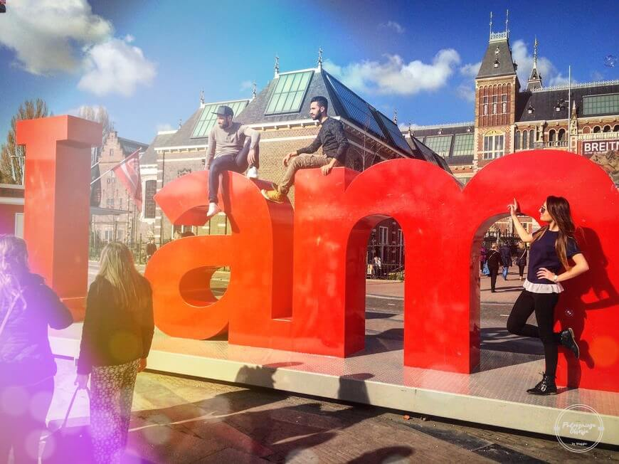 Maggie w Amsterdamie