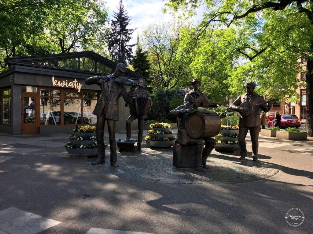 Pomnik muzykantów na warszawskiej Pradze