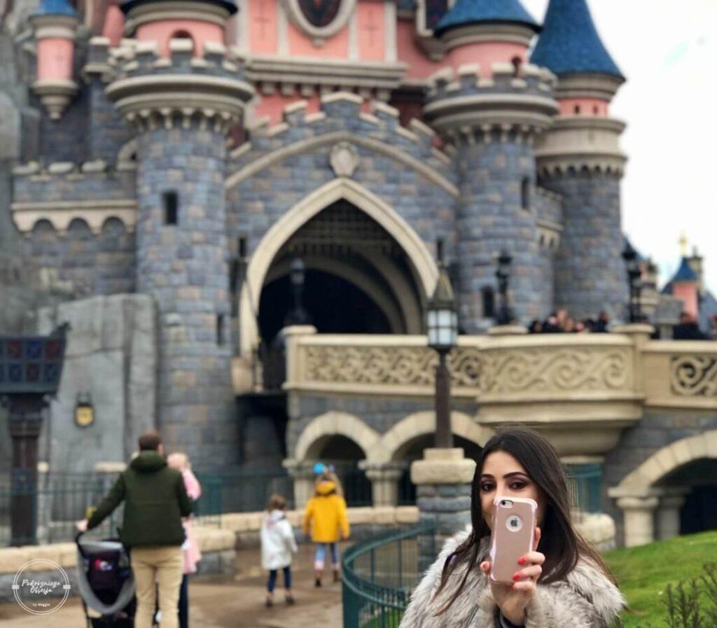 Selfie w Disneylandzie