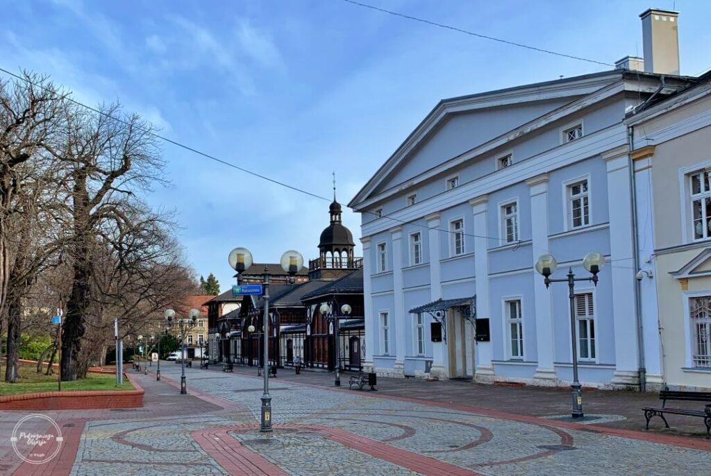 Deptak w Szczawnie-Zdroju