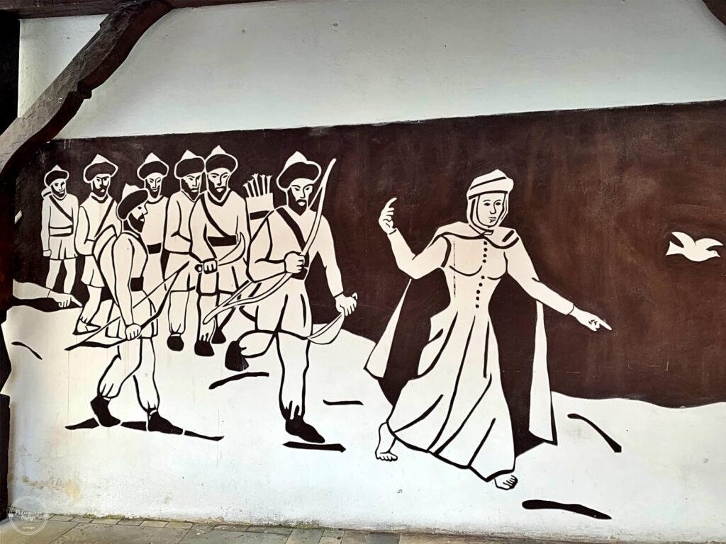 sandomierska legenda o Halinie i Tatarach