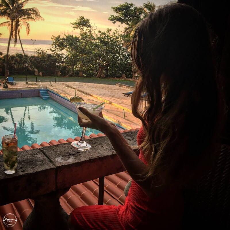 Widok z Hotelu Nacional w Hawanie