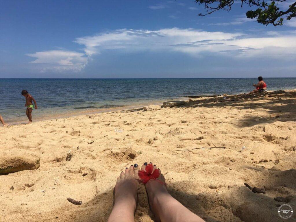 Plaża w okolicy Hawany