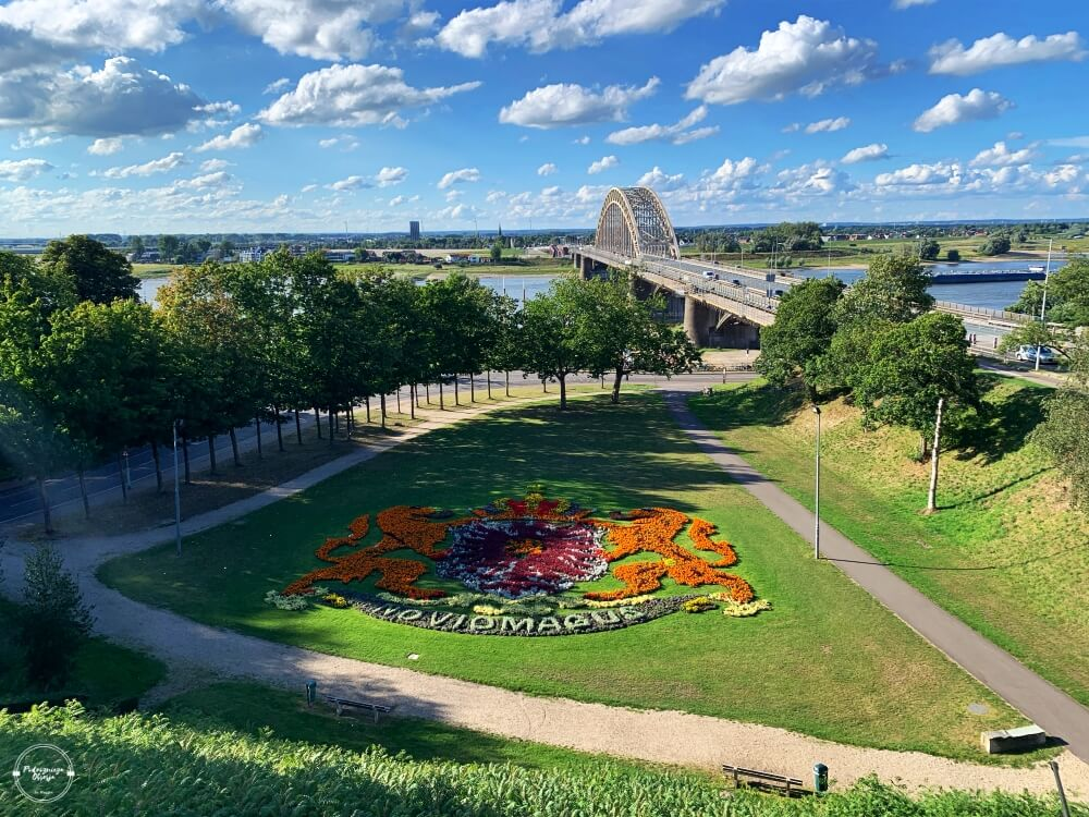 Most Waalburg w Nijmegen