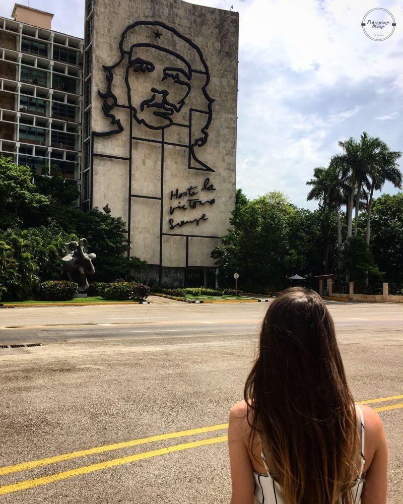 Plac Rewolucji w Hawanie