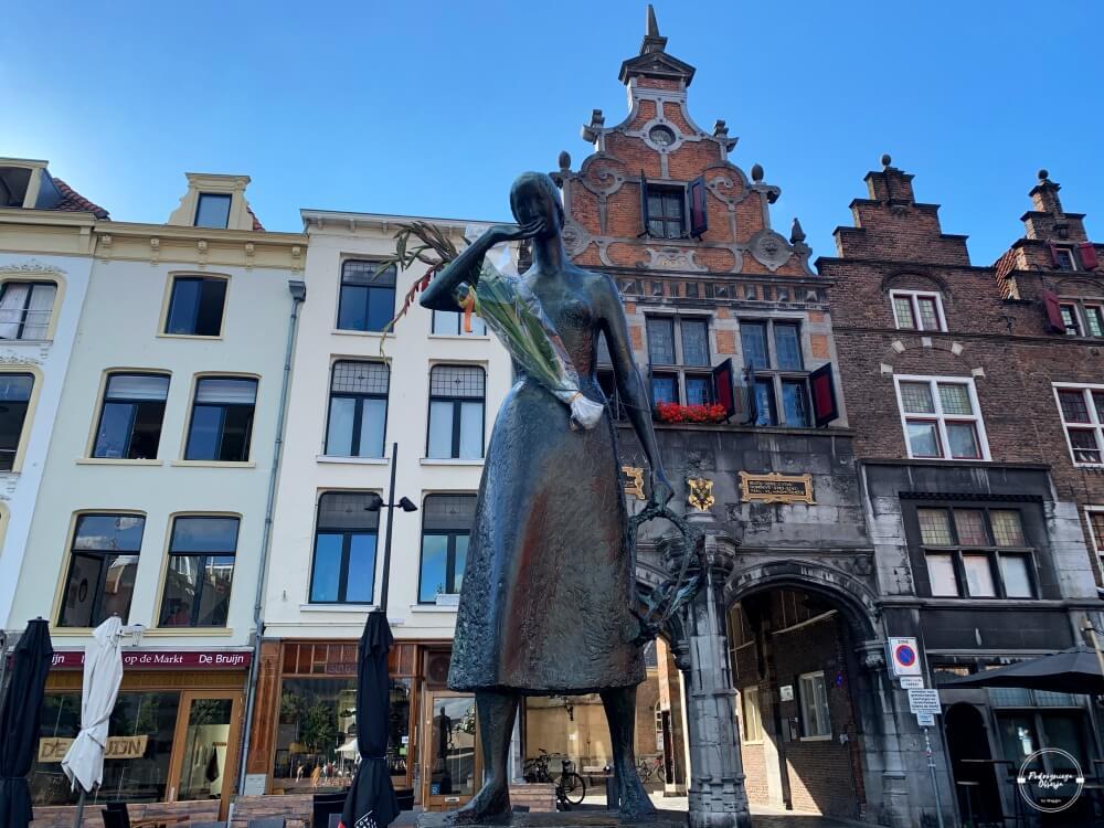 Pomnik Mariken w Nijmegen