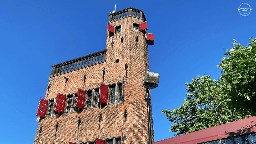 Wieża ścienna Belweder w Nijmegen