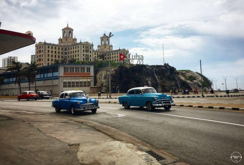 Kuba widok na Hotel Nacional