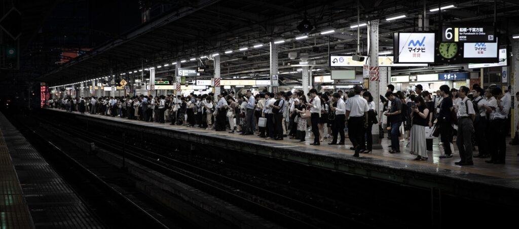 metro w japonii