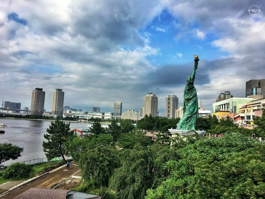 japońska Statua Wolności w Tokio