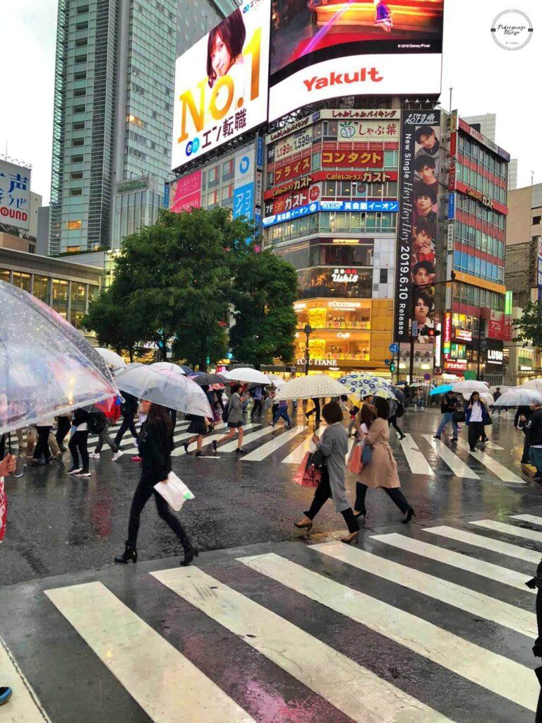 Największe skrzyżowanie świata Tokio Shibuya