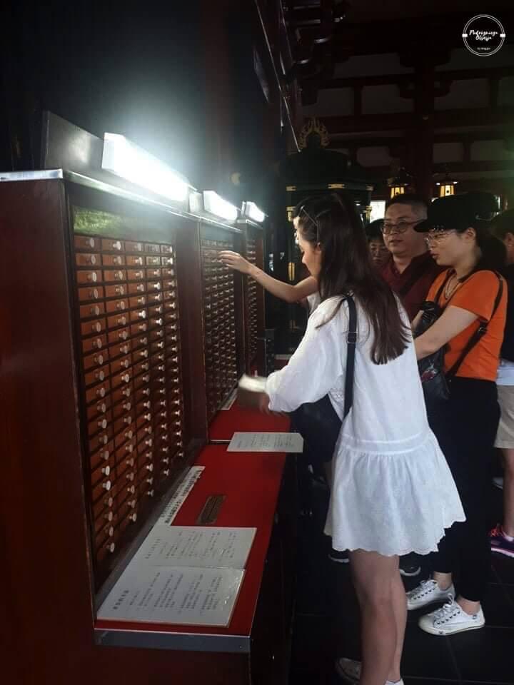Świątynia Senso-ji wróżby