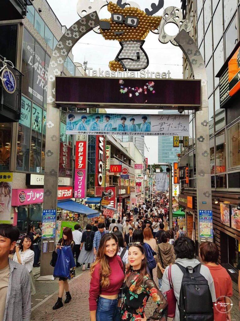 Ulica Takeshita w Tokio