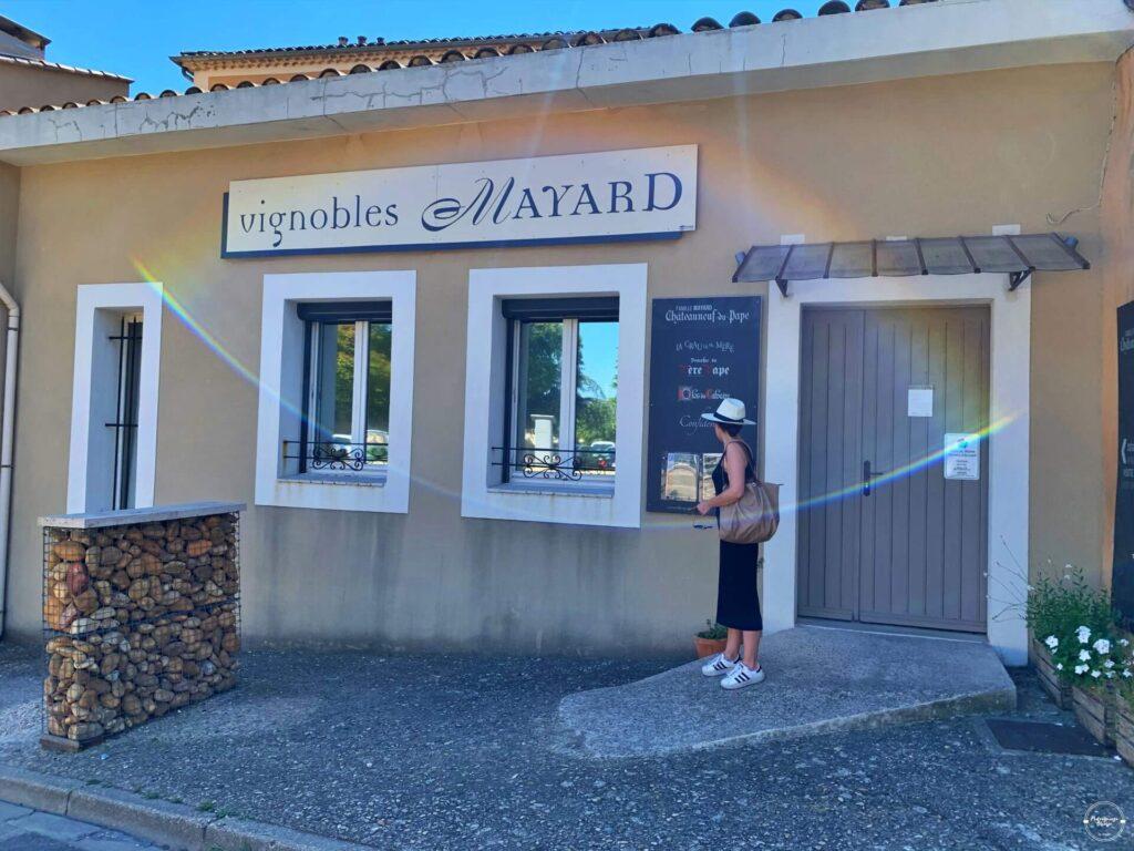 winnice na południu Francji
