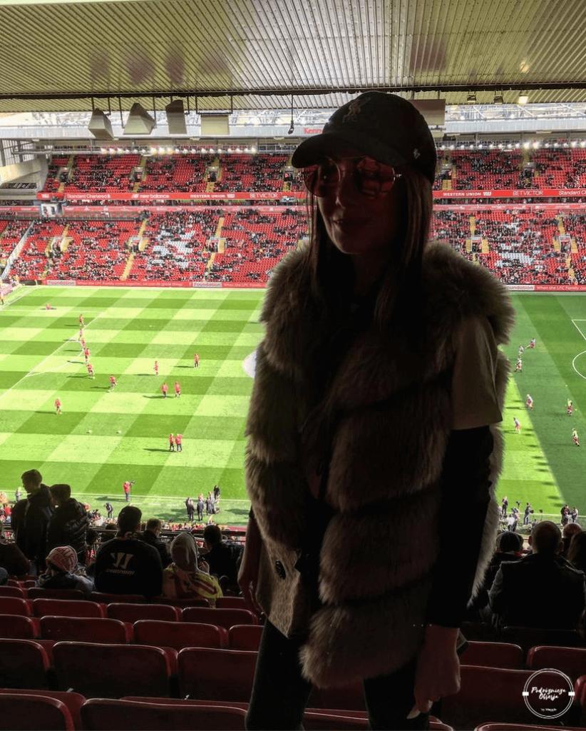 Trybuny stadionu Liverpool FC