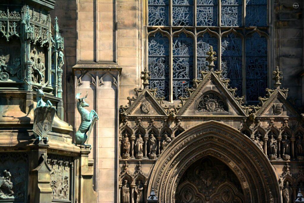 Katedra Św. Idziego zdobienia