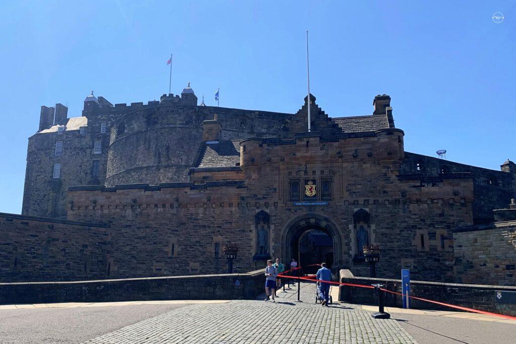 Królewski Zamek w Edynburgu