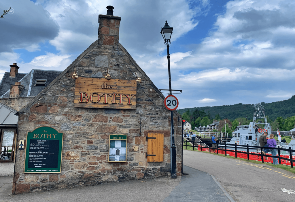 The Bothy Pub w Fort Augustus